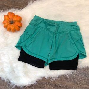 Athleta Reflective Running + Biking Shorts